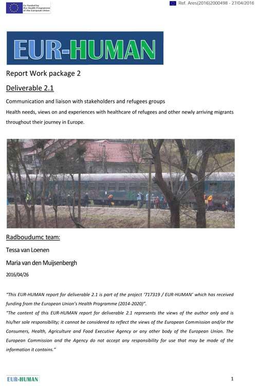 D2.1 Report